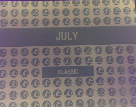 July card