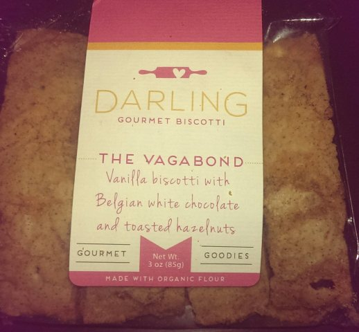Darling Gourmet Goodies biscotti