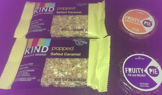 Kind bars and Fruity Pie