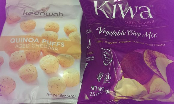 I Heart Keenwah puffs and Kiwa chips