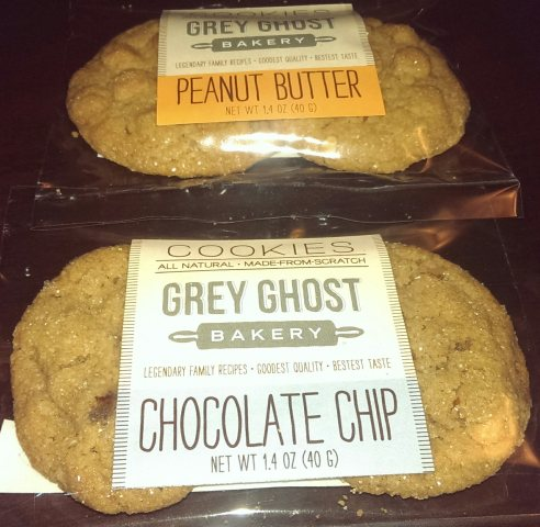Grey Ghost cookies