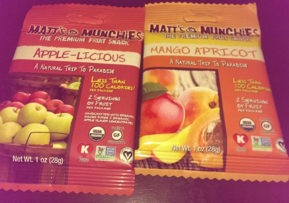 Matt's Munchies fruit leather
