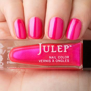 Poppy nail polish